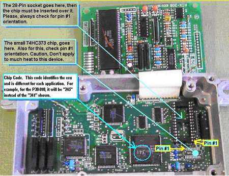 installing chip p30