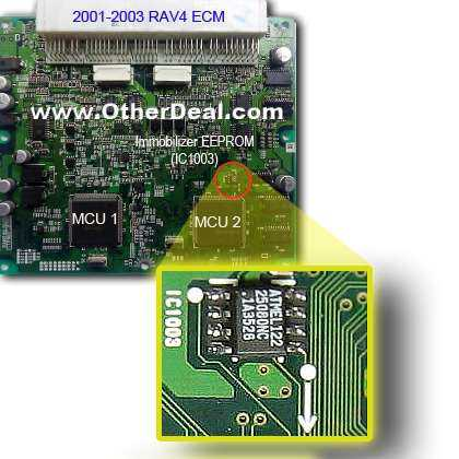 Simple Immobilizer SMD EEPROM Removal and replacement – Technical Domain