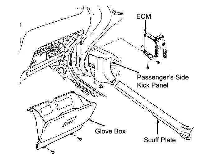 2001 2005 Toyota Rav4 Ecm Repair Service