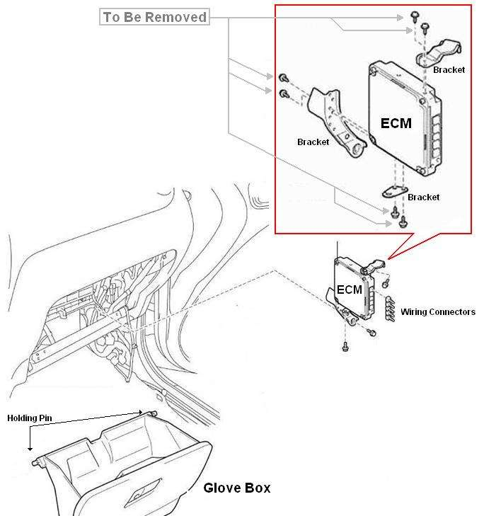 rav4 ecm removal 2