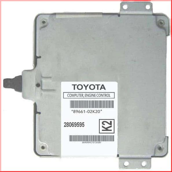2005-2007 Toyota Corolla Automatic ECM 89661-02K20