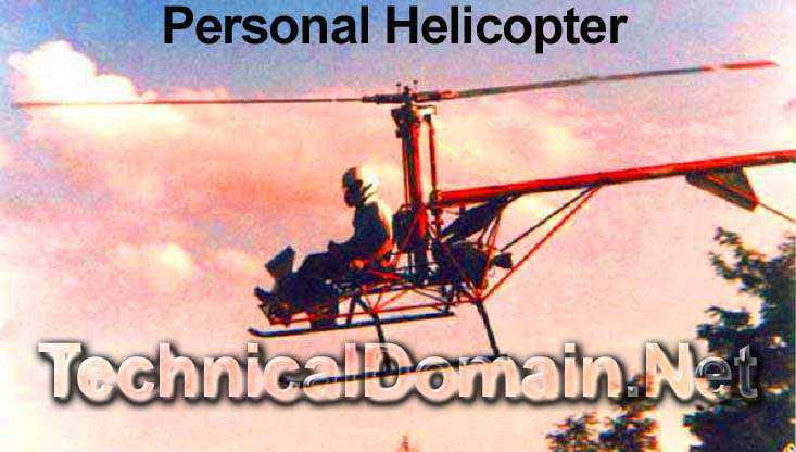 Personal Helicopter Plans