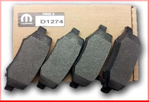D1274 Mopar Jeep rear brake Pads v2013776AA