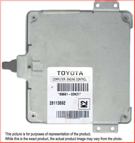 2005-2007 Toyota Corolla Automatic ECM 89661-02K21